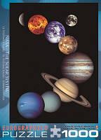 "Пазл ""Солнечная система"", 1000 элементов, EuroGraphics, фото 1"