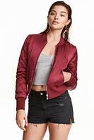 Куртка бомбер H&M в наличии XS S , фото 1