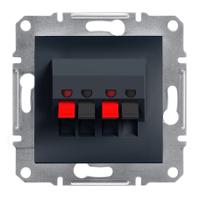 Аудиорозетка Schneider Electric Asfora Антрацит EPH5700171