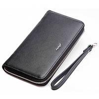 Кожаный кошелек-клатч BRIONI BR05-3009 черный