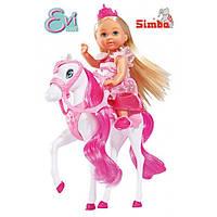 Кукольный набор Эви Ева Принцесса и королевский конь Simba 5732833
