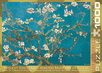 "Пазл ""Ветви цветущего миндаля"" Винсент ван Гог, 1000 элементов, EuroGraphics, фото 1"