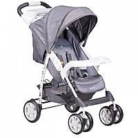 Детская прогулочная коляска книжка Quatro Imola Light grey (серый) 14 купить оптом и в розницу в Украине 7 км