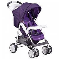 Детская прогулочная коляска книжка Quatro Imola Purple (фиолетовый) 9 купить оптом и в розницу в Украине 7 км
