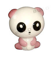 Ночник Buko Панда ВК805 4W LED розовый