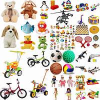 Игрушки (мягкие игрушки, конструкторы, куклы и т.д.) все для активных игр и развлечений