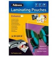 Глянцева плівка для ламінування, Fellowes 80 мкм А3