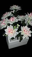 Нежная лилия, разные цвета, выс. 46 см., 10 шт. в упаковке, 41 гр.