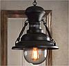 Винтажный подвесной светильник (люстра) P125540B