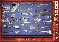 """Пазл """"Америанские самолеты-разведчики"""", 1000 элементов, EuroGraphics"""