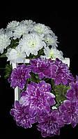 Пышный букет искусственных цветов, разные цвета, выс. 44 см., 20 шт. в упаковке, 44.65 гр.