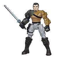 Разборная фигурка Звездные войны Кейнан Джаррус (Калеб Дьюн) 15 см. Оригинал Hasbro Hero Mashers