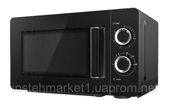 Мікрохвильова піч Grunhelm 20MX68-LB чорна (потужність 800 Вт) в інтернет-магазині