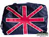 Дорожная сумка на плечо эко-кожа ( для ноутбука) Great Britain