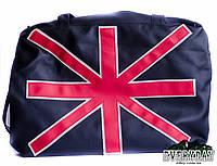Дорожная сумка на плечо эко-кожа ( для ноутбука) Great Britain , фото 1