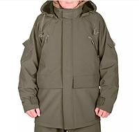 Куртка демисезонная мембрана 5000/5000 + флис Soft Shell Хаки для рыбаков, охотников, военным