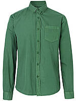 Мужская зеленая рубашка Edgard от Solid  в размере L