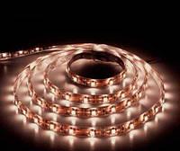 Светодиод лента FERON LS604/LED-RL 60SMD(3528)/m 4 8W/m 12V 5m*8*0.22mm теплый белый на белIP65