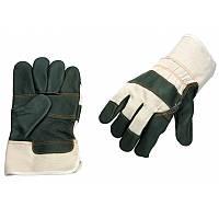 Перчатки кожанные комбинированные С25Д
