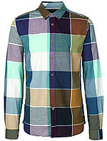 Мужская рубашка в клетку Dublin от Solid  в размере L
