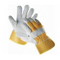 Перчатки кожанные комбинированные С25ЛФ