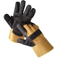 Перчатки кожанные комбинированные ORIOLE