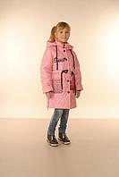 Удлиненная весенняя куртка для девочки Соннети