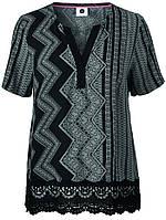 Блуза рубашка черного цвета Svale 1 от Peppercorn (Дания) в размере M