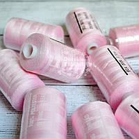 Нитки швейные 40/2, 1000 ярдов, цвет светло-розовый (№141)