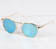 Очки женские Dior Flash голубые, магазин очков