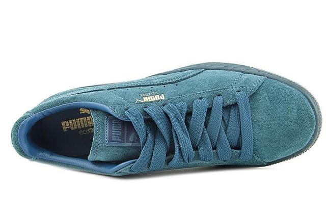 Кроссовки мужские Puma Suede Classic Mono Iced Sea Blue