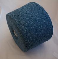 Inwool art NEVADA 60%шерсть 20%шелк 20% полиамид 800 м голубой с белыми вкраплениями