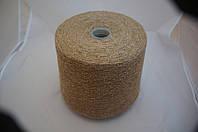 Inwool art NEVADA 60%шерсть 20%шелк 20% полиамид 800 м песочный с белыми вкраплениями 1790