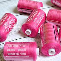 Нитки швейные 40/2, 1000 ярдов, цвет амарантовый (№146)