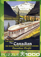 "Пазл ""Канадский експресс"" Роджер Коуиллард, 1000 элементов, EuroGraphics"