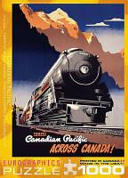 "Пазл ""Путешествие по Канаде"" Питер Эдвард, 1000 элементов, EuroGraphics, фото 1"