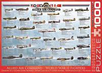 """Пазл """"Истребители 2-й Мировой войны"""", 1000 элементов, EuroGraphics"""