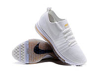 Мужские кроссовки Nike Zoom All Out Flynit All White (найк мужские беговые кроссовки)