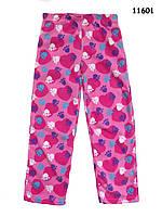 Флисовые домашние штаны для девочки. 8 лет