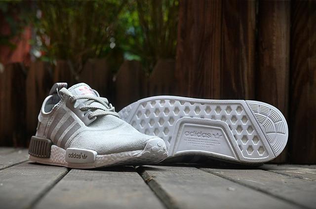 Кроссовки мужские Adidas NMD Runner Suede Grey.