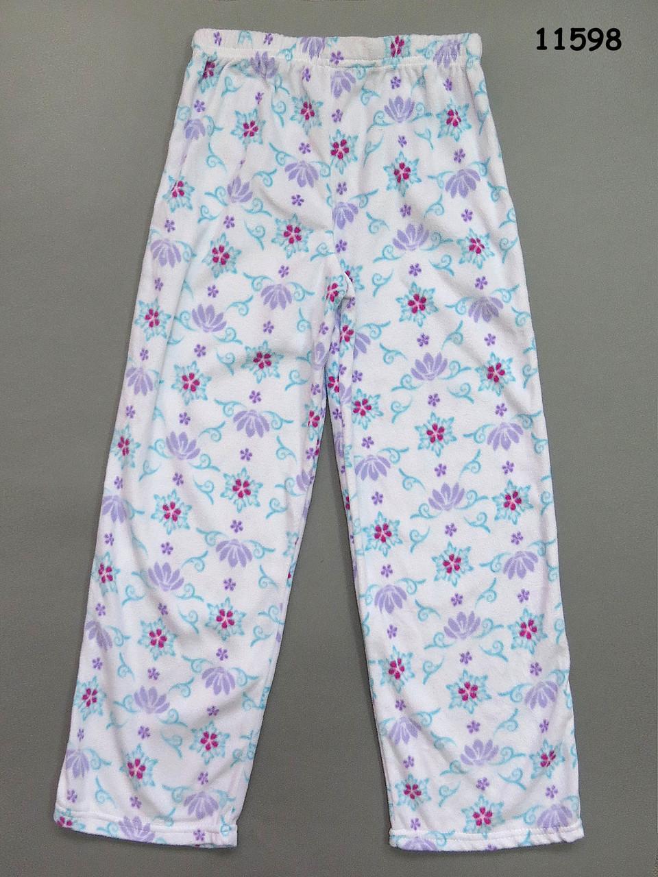 Флисовые домашние штаны для девочки. 10 лет - Детская одежда и товары