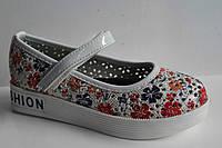 Детские Весенние туфли оптом на девочек от фирмы Солнце (разм. с 26-по 32) 8 шт