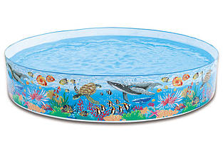 Детский каркасный бассейн Intex 58472
