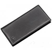 Кожаный кошелек FERRAGAMO SO-902 черный