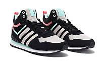 Кроссовки женские Adidas 10XT WTR MID Black-White-Pink