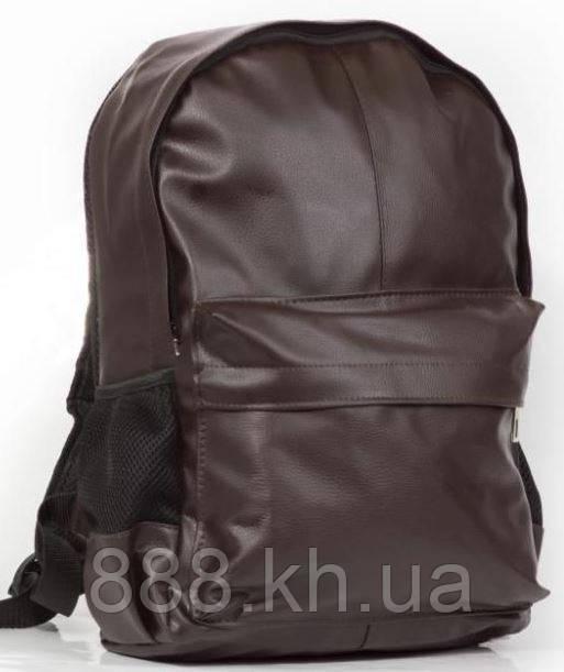 Городской рюкзак кожаный, кожаный рюкзак коричневый