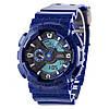 Мужские (женские) спортивные наручные часы Casio G-Shock ga-110 темно-синего цвета-AAA копия,полный комплект
