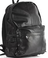 Кожаный рюкзак UK Sport, городской рюкзак черный, фото 1