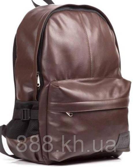 Кожаный рюкзак UK Sport, городской рюкзак коричневый
