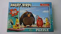 """Пазлы """"Angry Birds"""",80 ел,Enfant,230х160мм.Детские пазлы,80 элементов.Пазли мален. на 80 эл .Пазлы детские.Паз"""